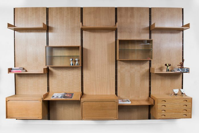Free standing wall unit Gianfranco Frattini