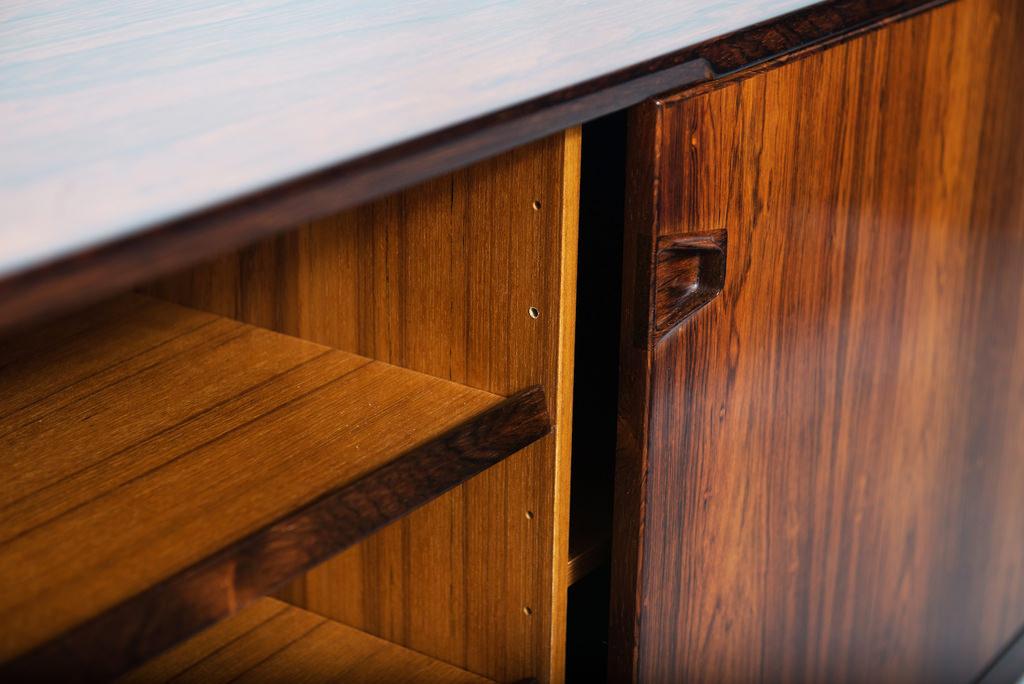 H. Rosengren Hansen Rosewood Danish Sideboard | 5