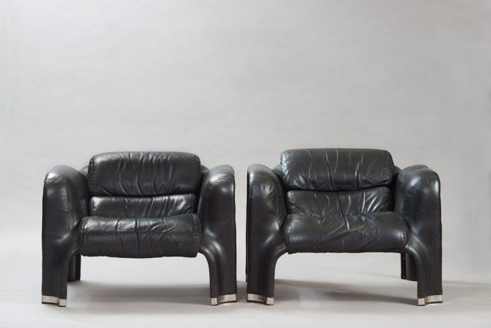 """Pohjola"" Lounge Chairs"