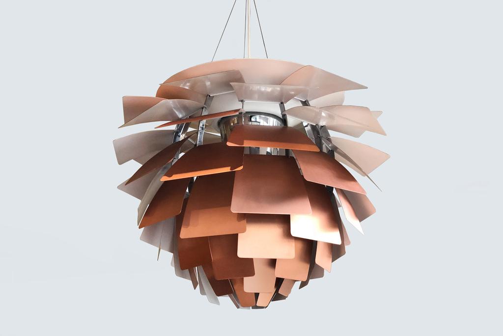 Candeeiro de tecto Artichoke de Poul Henningsen