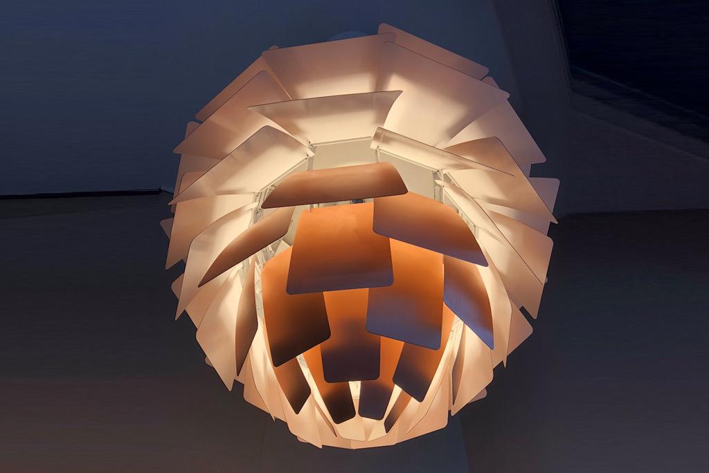Candeeiro de tecto Artichoke de Poul Henningsen | 5
