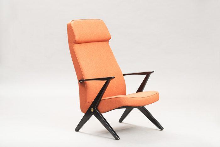 Cadeira 'Triva' de Bengt Ruda para a Nordiska Kompaniet