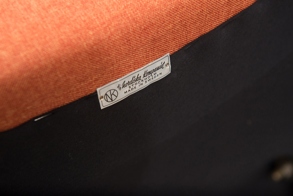 Cadeira 'Triva' de Bengt Ruda para a Nordiska Kompaniet |