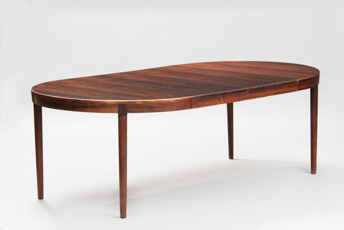 N. O. Moller mid-century modern danish dining table for J. L. Mollers