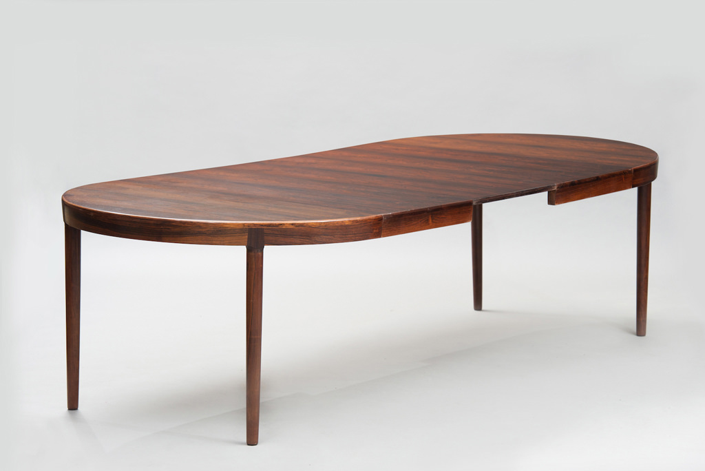 N. O. Moller mid-century modern danish dining table for J. L. Mollers | 1