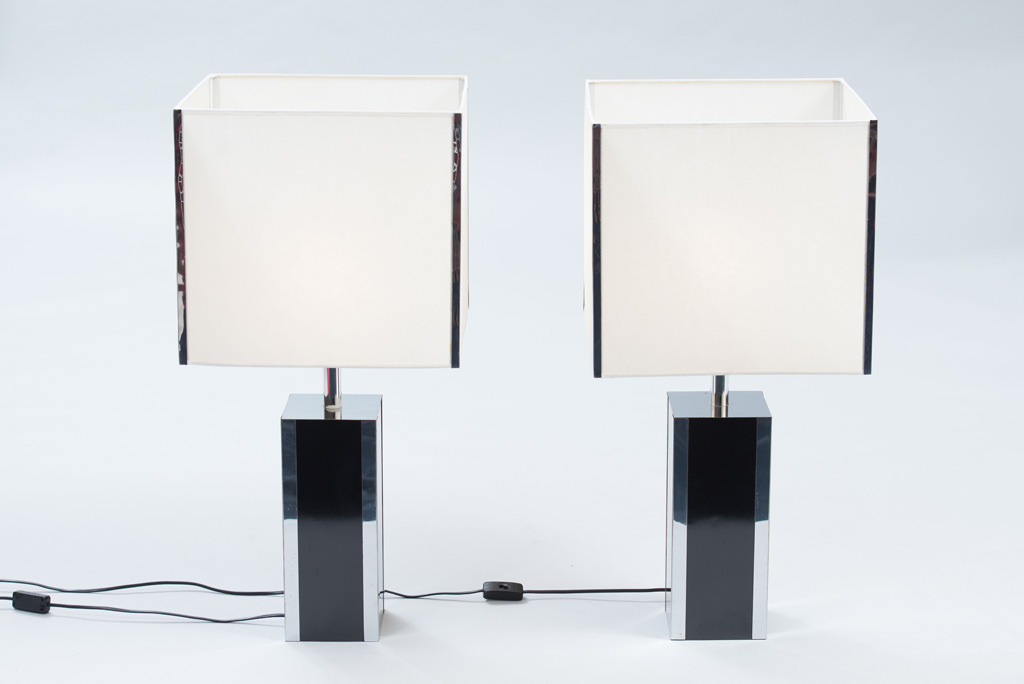 Pair of 1970s French Table Lamps | 1