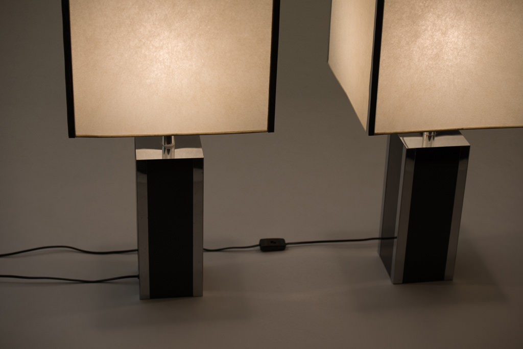 Pair of 1970s French Table Lamps | 2