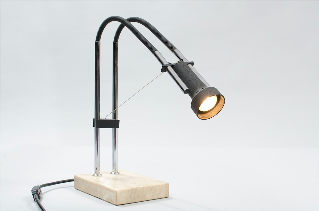 Angelo Lelli Mid-century Modern Desk Lamp for Arredoluce 1960s