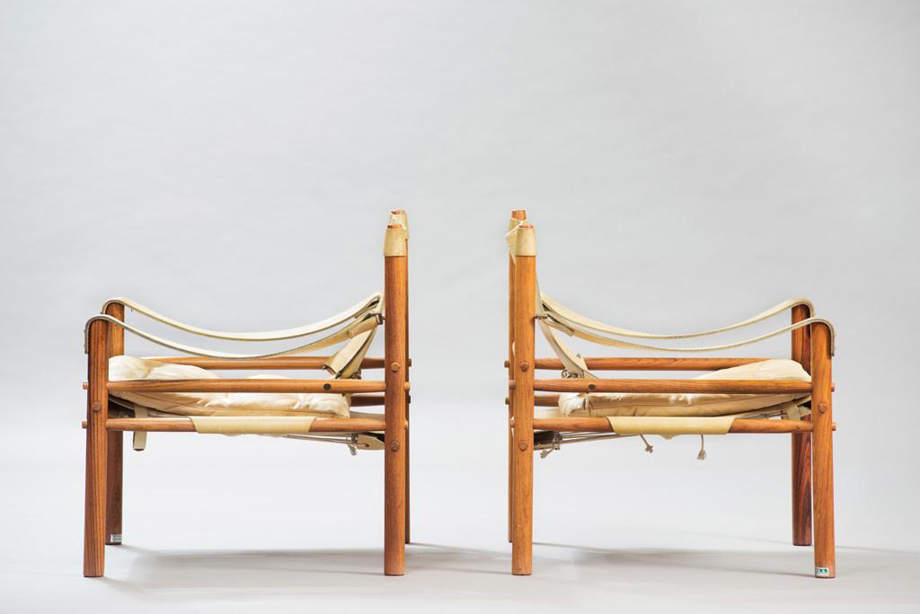 Poltronas Sirocco de Arne Norell | 1