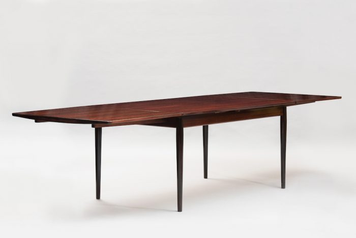 Arne Vodder rosewood dining table