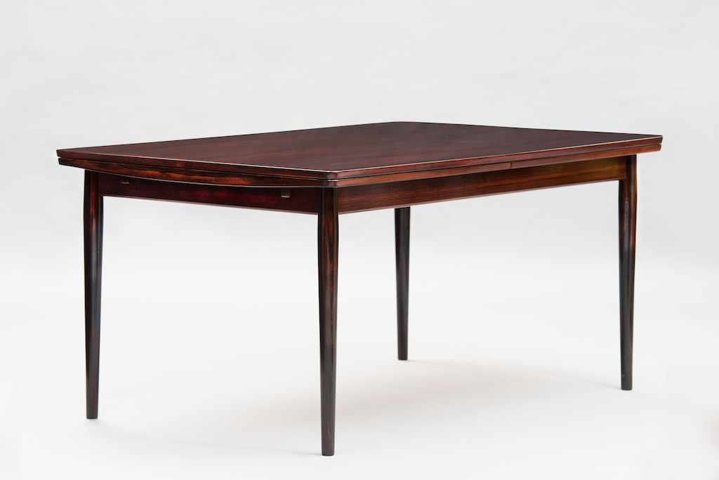Arne Vodder rosewood dining table | 1