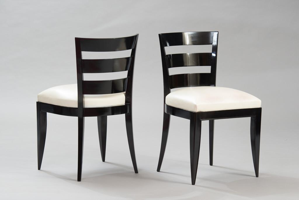 Conjunto de seis Cadeiras de Jantar Art Deco