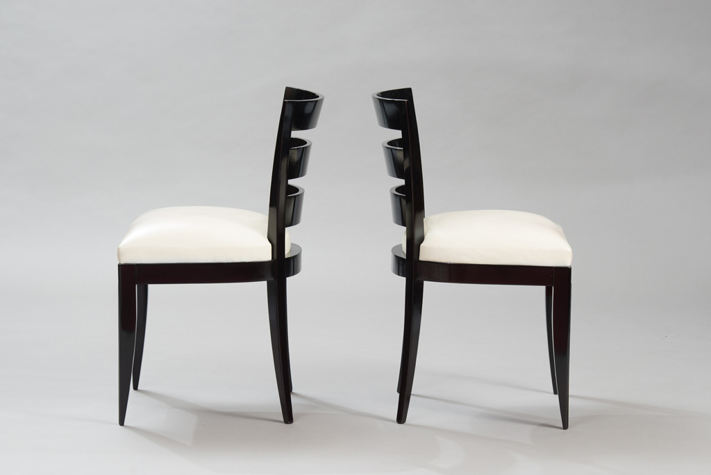 Art Deco Dining Chairs Set of Six | 1