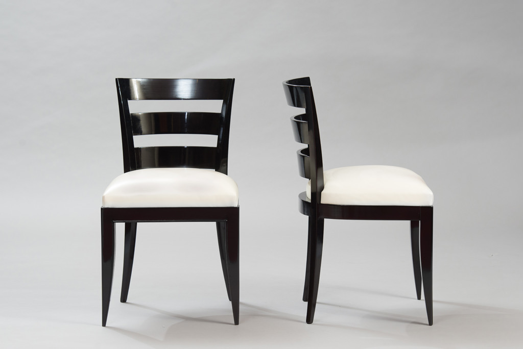 Art Deco Dining Chairs Set of Six | 2