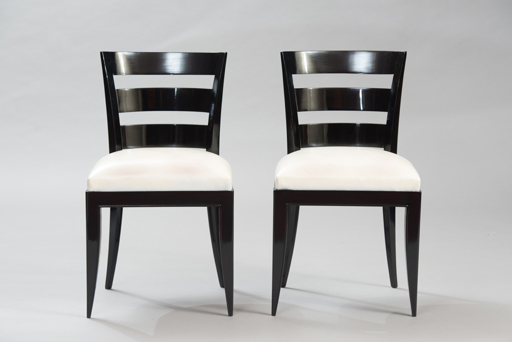 Art Deco Dining Chairs Set of Six | 3