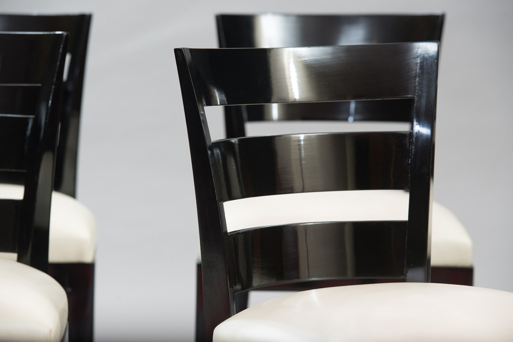 Art Deco Dining Chairs Set of Six | 5