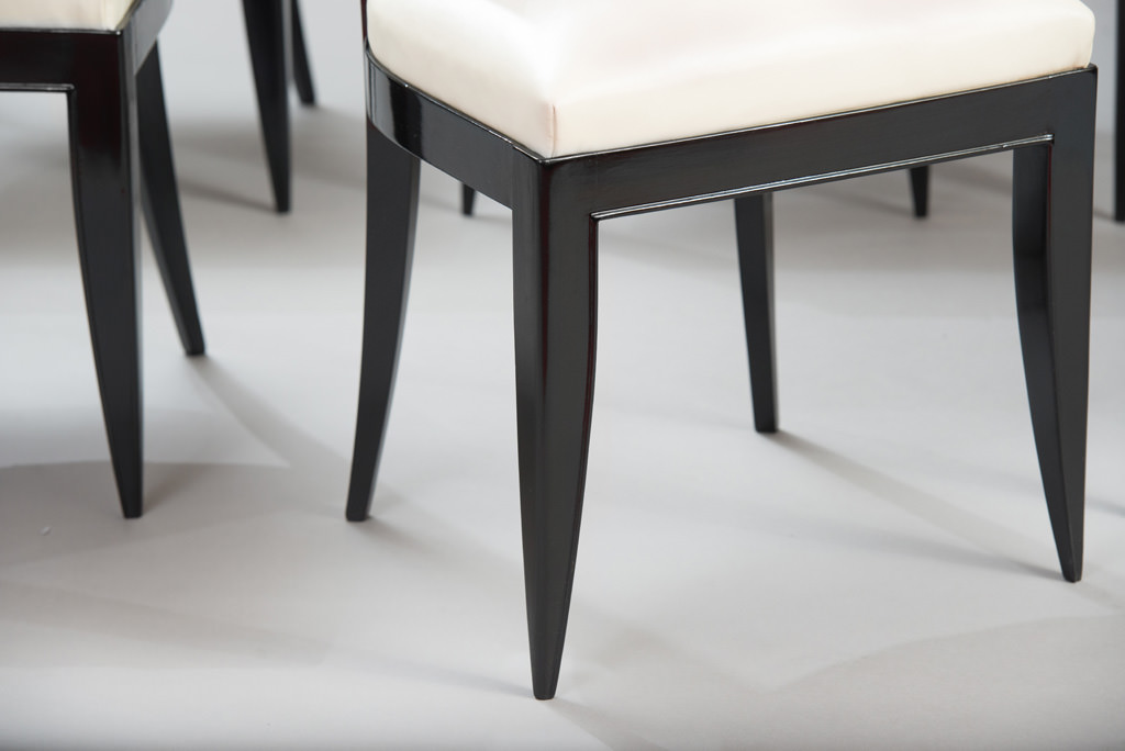 Conjunto de seis Cadeiras de Jantar Art Deco | 6
