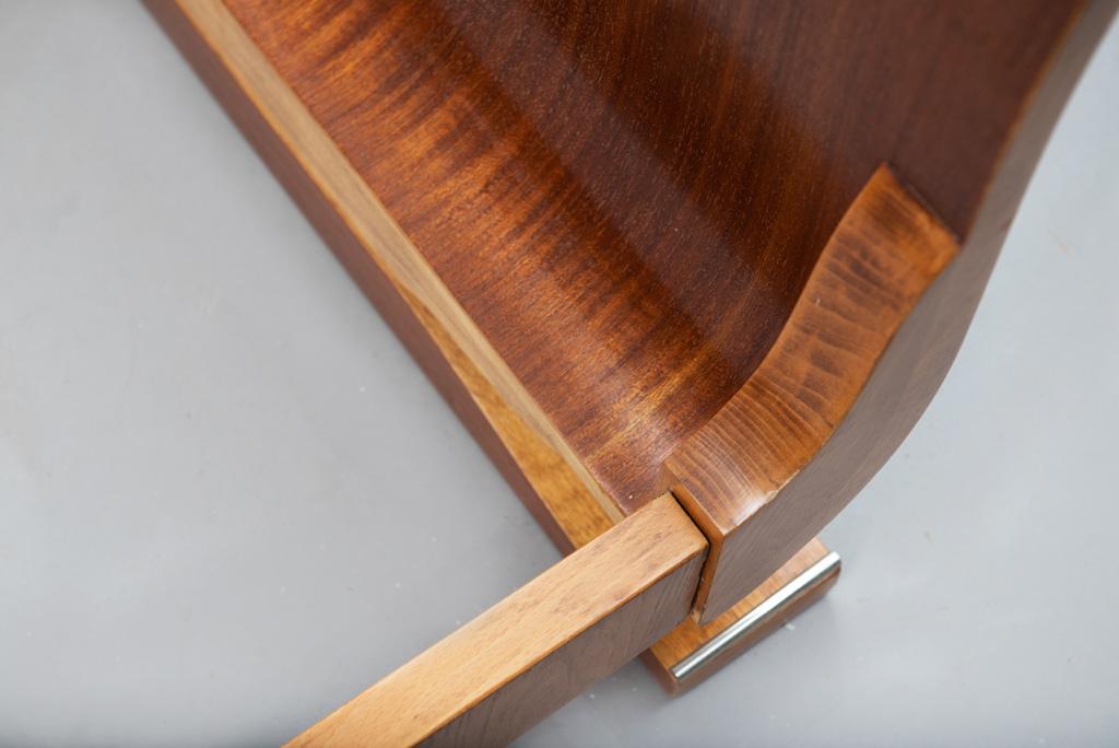 Cama de Casal Art Deco com mesas de Cabeceira | 4