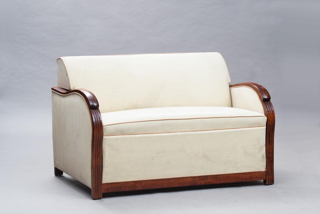 Sofá-cama Art Deco