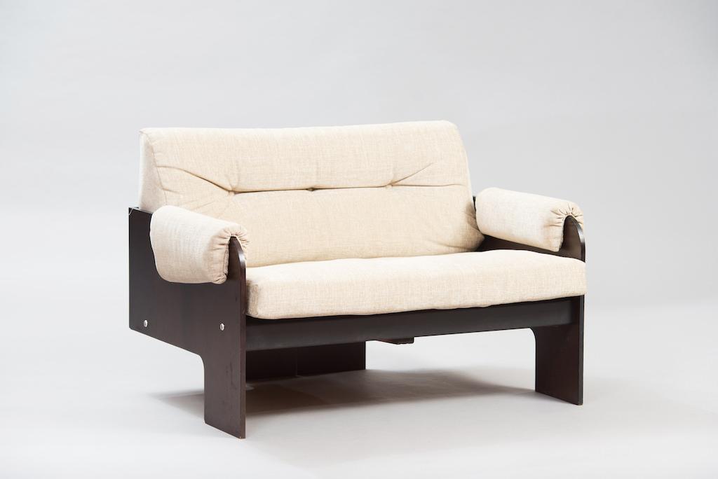 Sofá de Dois Lugares no Estilo de Claudio Salocchi