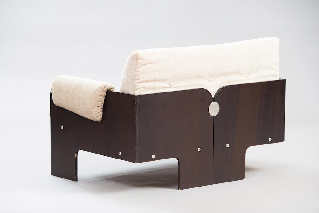 Sofá de Dois Lugares no Estilo de Claudio Salocchi | 1