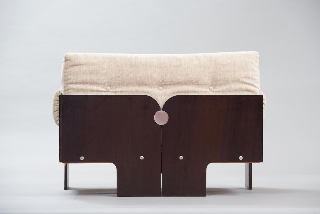Sofá de Dois Lugares no Estilo de Claudio Salocchi | 2