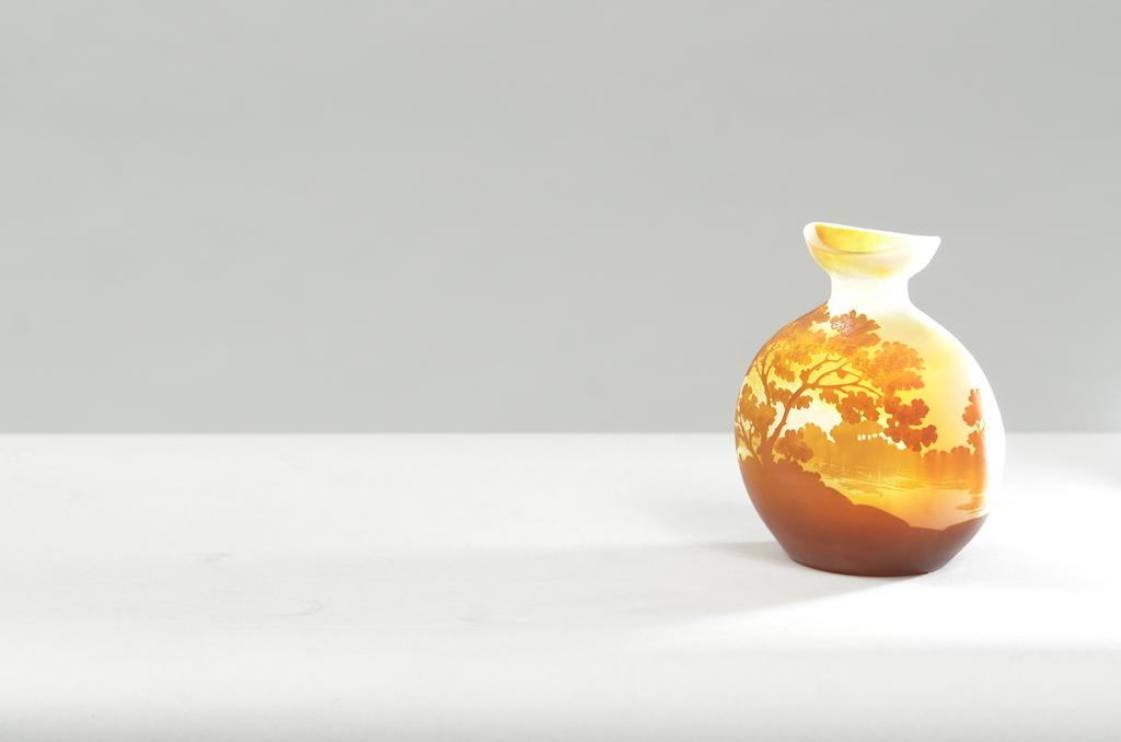 Jarra Emile Gallé em vidro gravado | 4