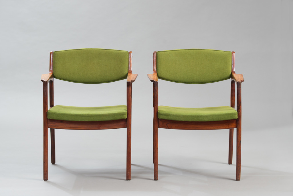 Cadeiras de Braço Erik Buch Anos 60 para a Ørum Møbelfabrik | 1
