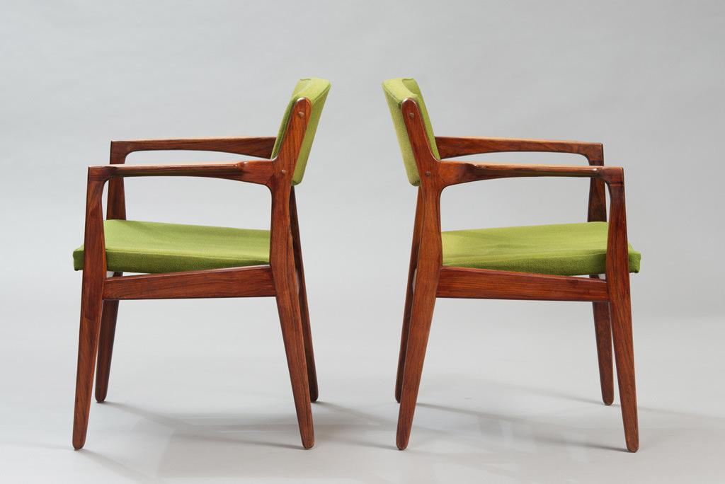 Cadeiras de Braço Erik Buch Anos 60 para a Ørum Møbelfabrik | 2