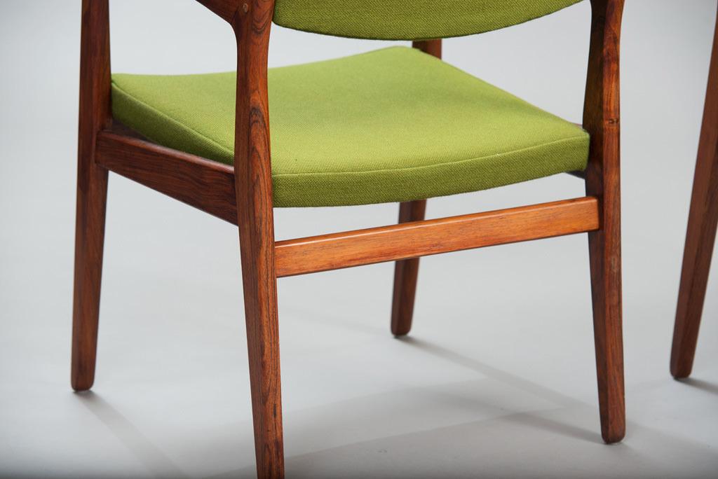 Cadeiras de Braço Erik Buch Anos 60 para a Ørum Møbelfabrik | 4