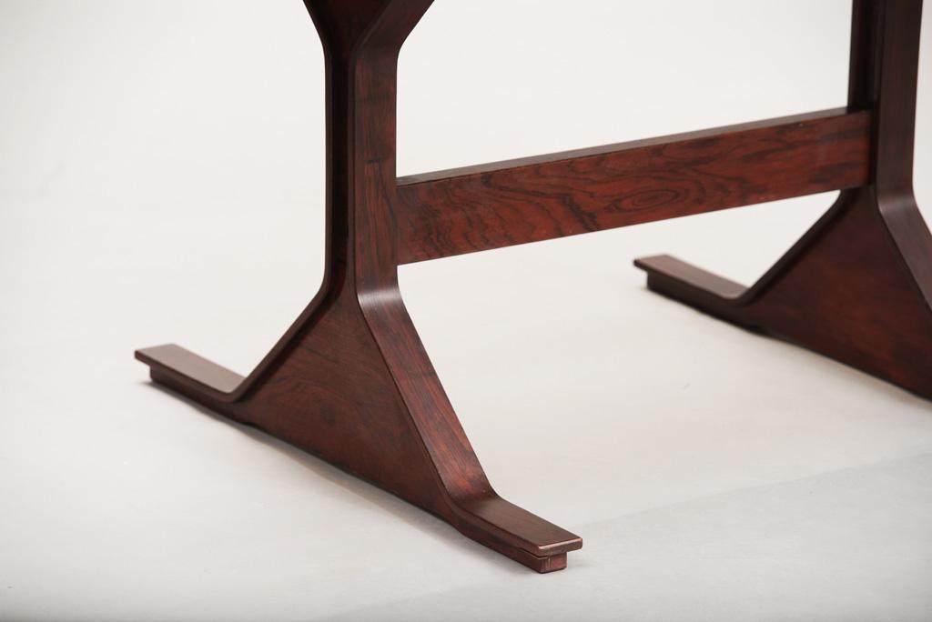 Gianfranco Frattini Rosewood Desk   7