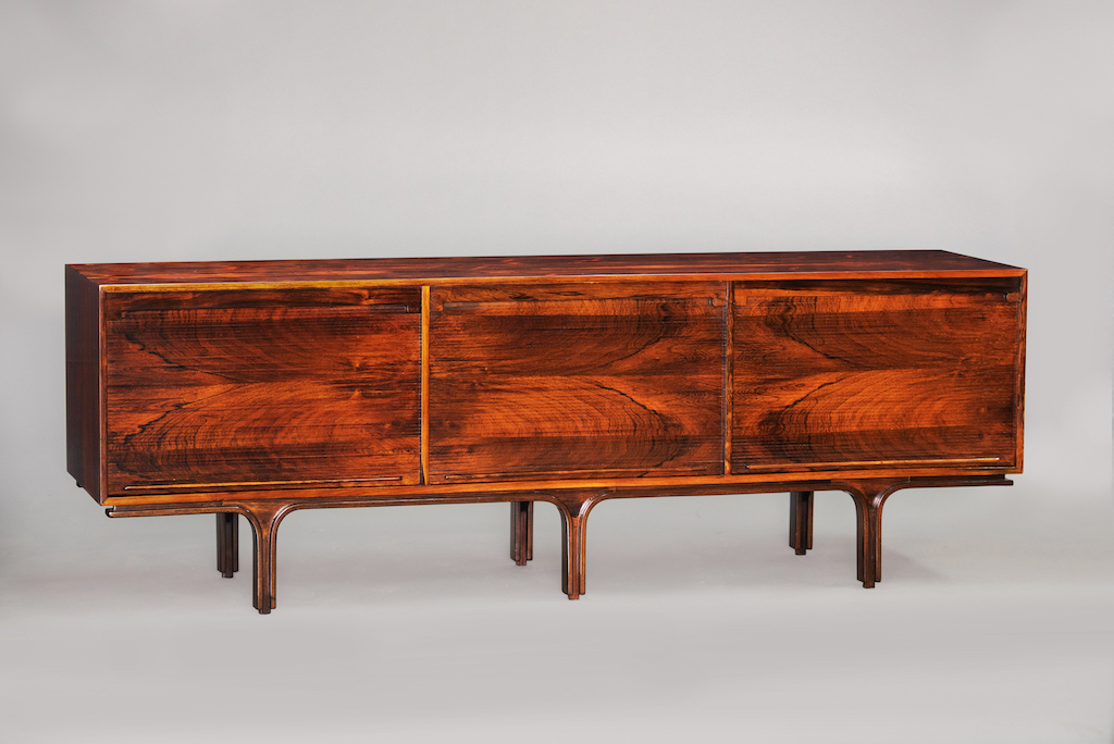Gianfranco Frattini rosewood sideboard | 1
