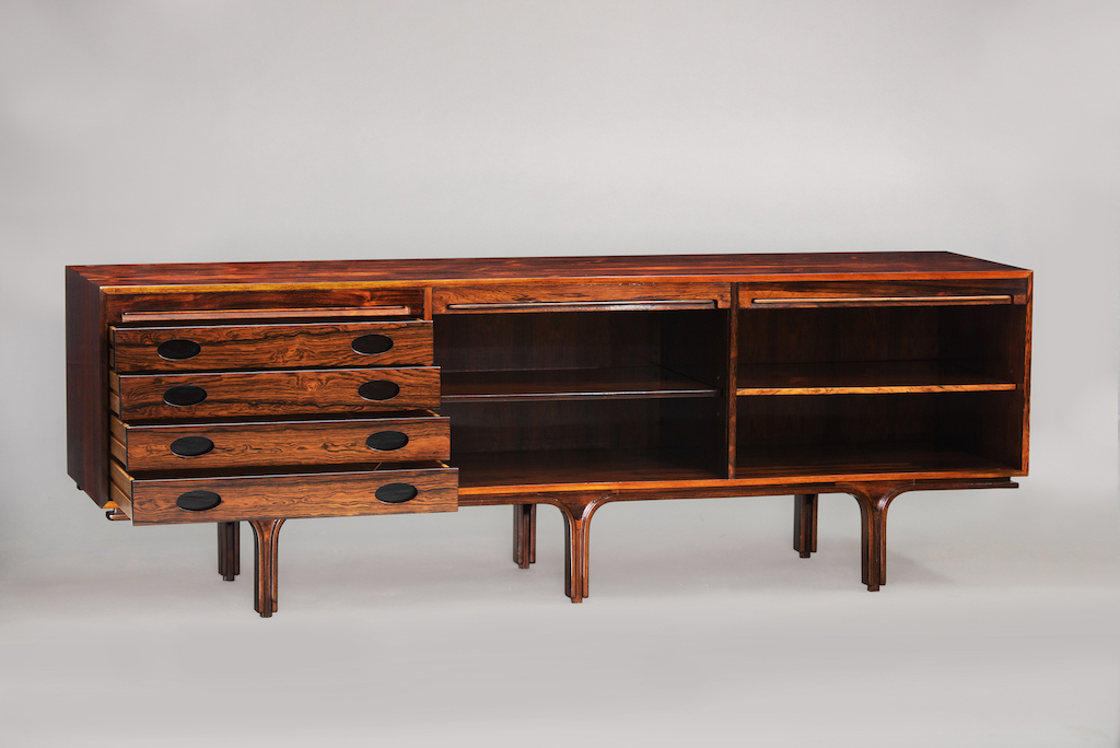 Gianfranco Frattini rosewood sideboard | 3