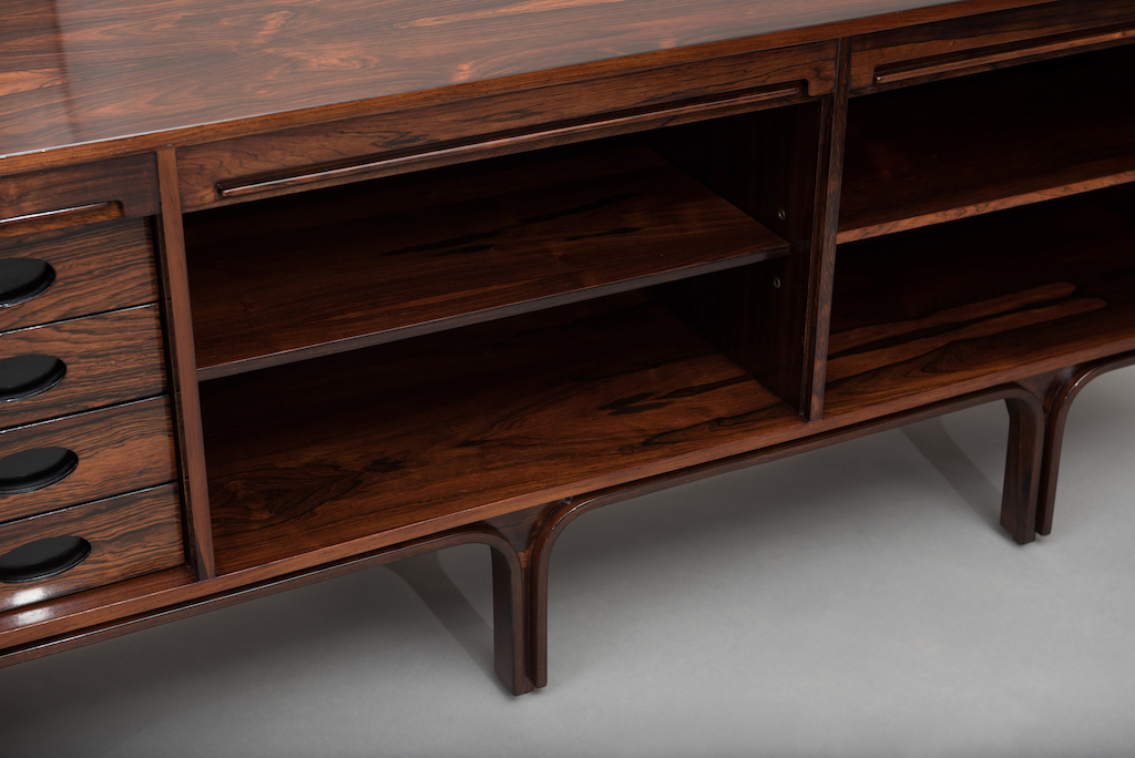 Gianfranco Frattini rosewood sideboard | 6