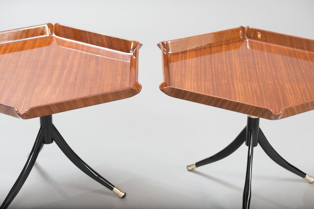Mid-century Modern Italian Side Tables | 1