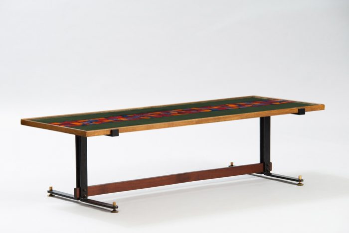 Italian Mid-century Modern Ennamelled Coffee Table