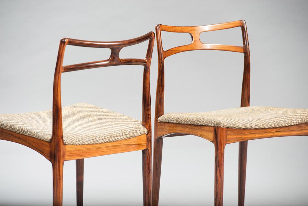 Cadeiras de Jantar em Pau-santo Johanner Andersen para Christian Linneberg Mobelfabrik   5