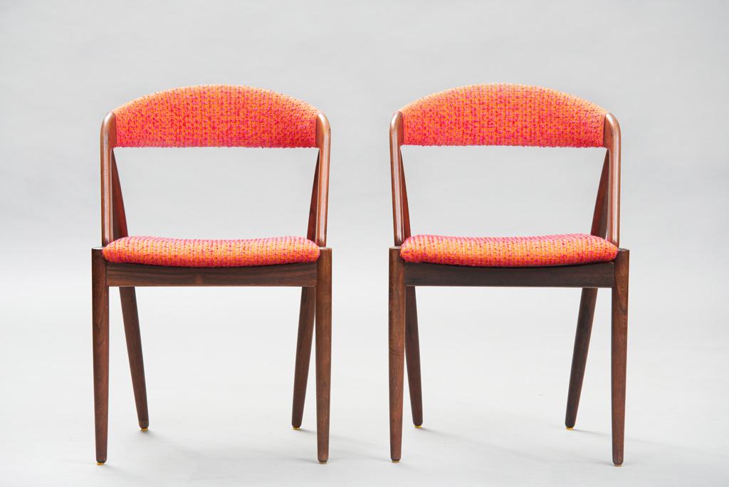 Cadeiras de Jantar Kai Kristiansen | Modelo 31 | 2