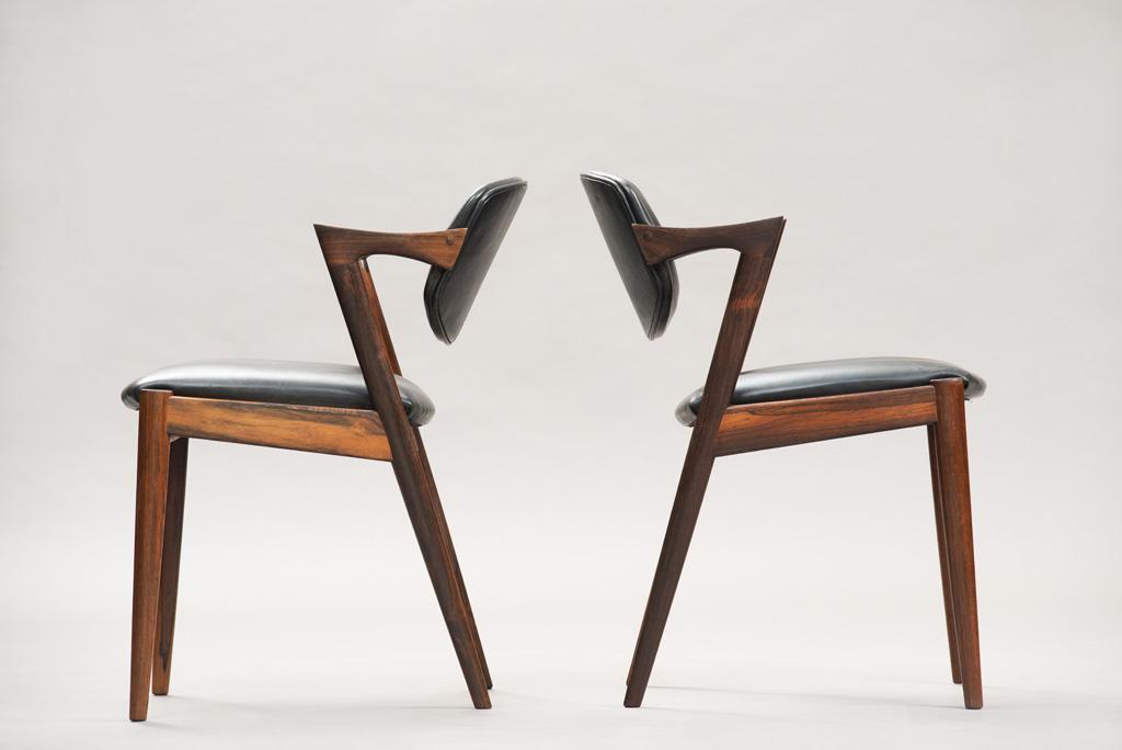 Cadeiras de Jantar Kai Kristiansen | Modelo 42 | 1