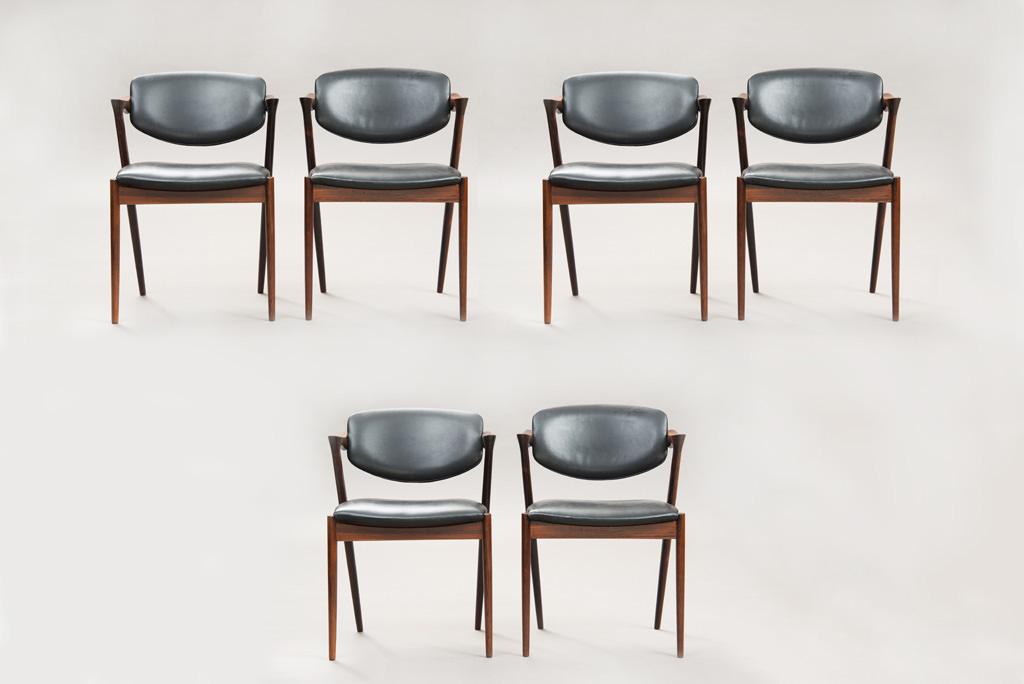 Cadeiras de Jantar Kai Kristiansen | Modelo 42 | 3