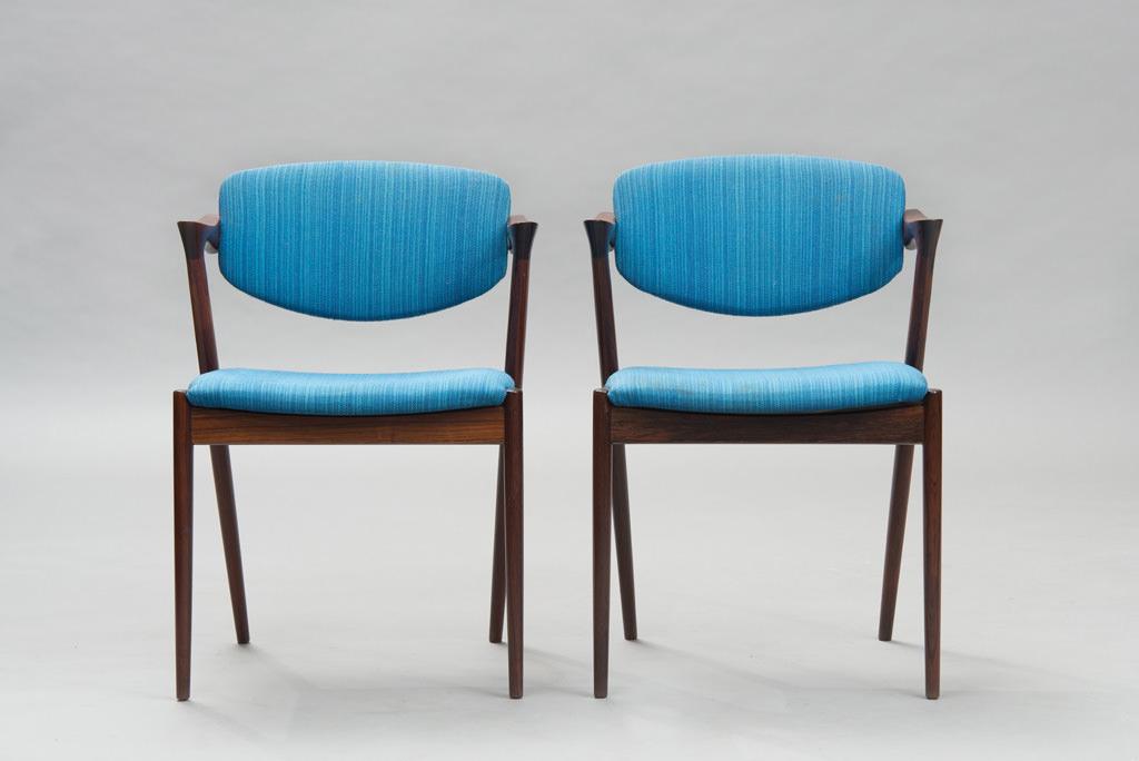 Cadeiras de Jantar Kai Kristiansen | Modelo 42 | 2