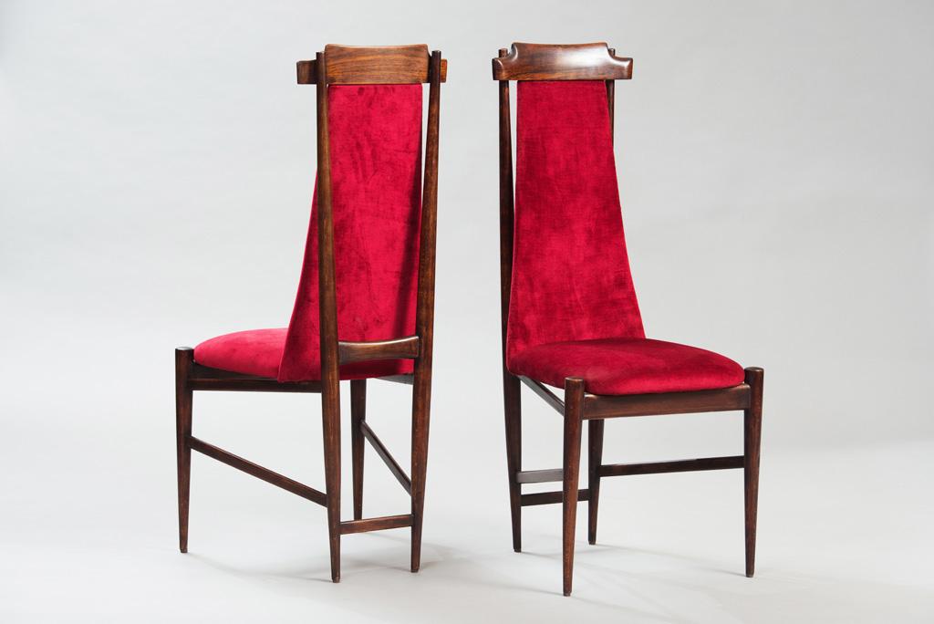 Cadeiras de Jantar Anos 50 ao Estilo de Franco Albini