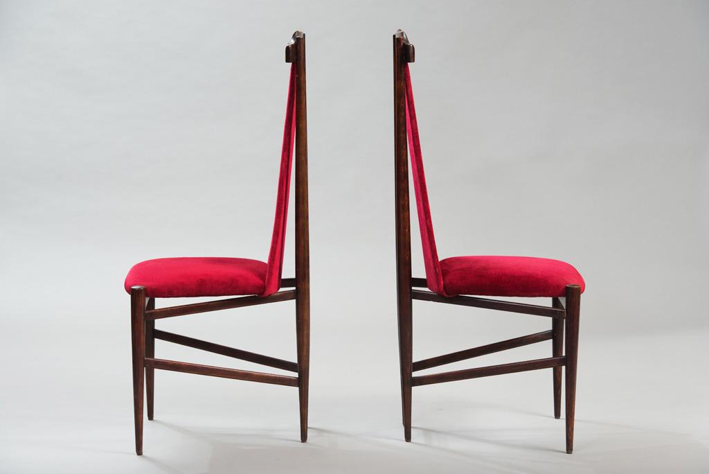 Cadeiras de Jantar Anos 50 ao Estilo de Franco Albini | 1