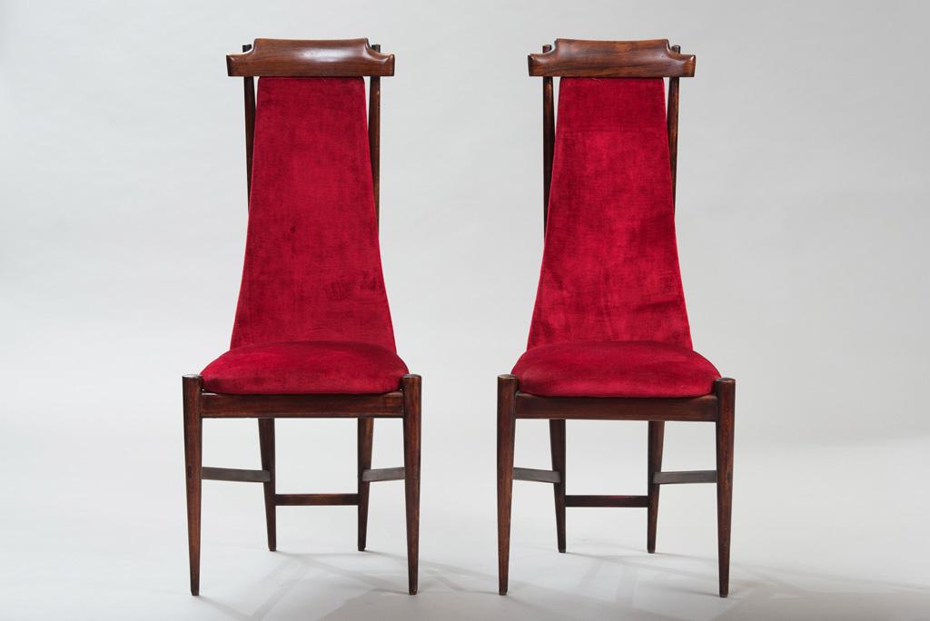 Cadeiras de Jantar Anos 50 ao Estilo de Franco Albini | 2