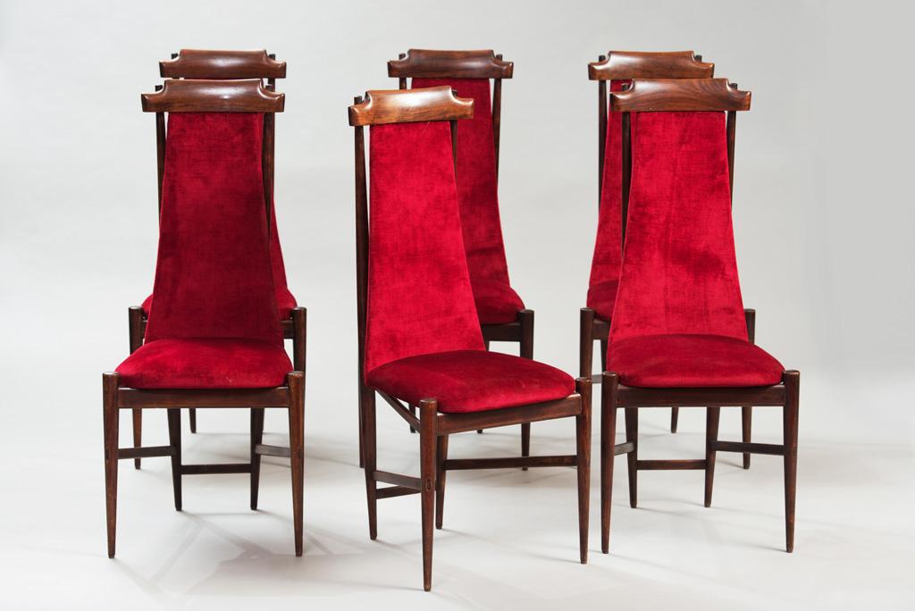 Cadeiras de Jantar Anos 50 ao Estilo de Franco Albini | 3