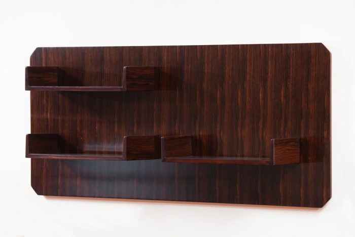 Italian Mid-cntury Modern Rosewood Book Shelf