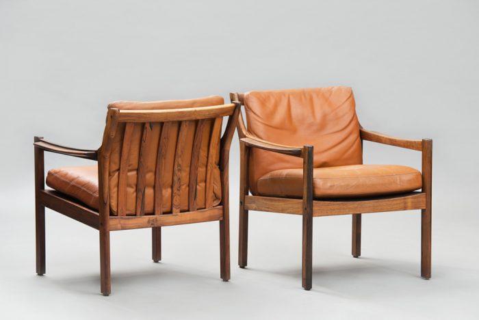 Mid-century Modern Danish Armchairs
