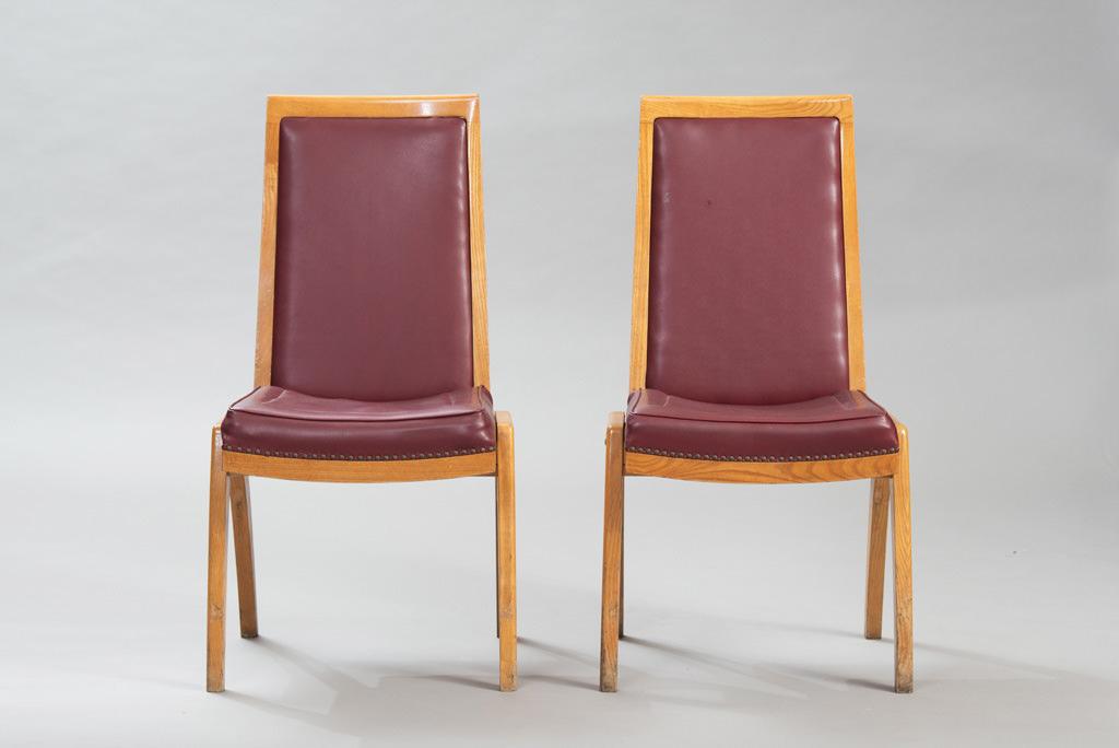 Conjunto de Sete Cadeiras de Jantar Anos 50 | 2