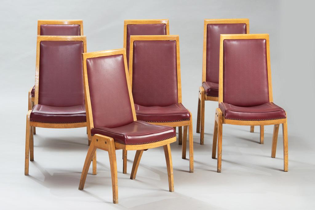 Conjunto de Sete Cadeiras de Jantar Anos 50 | 3