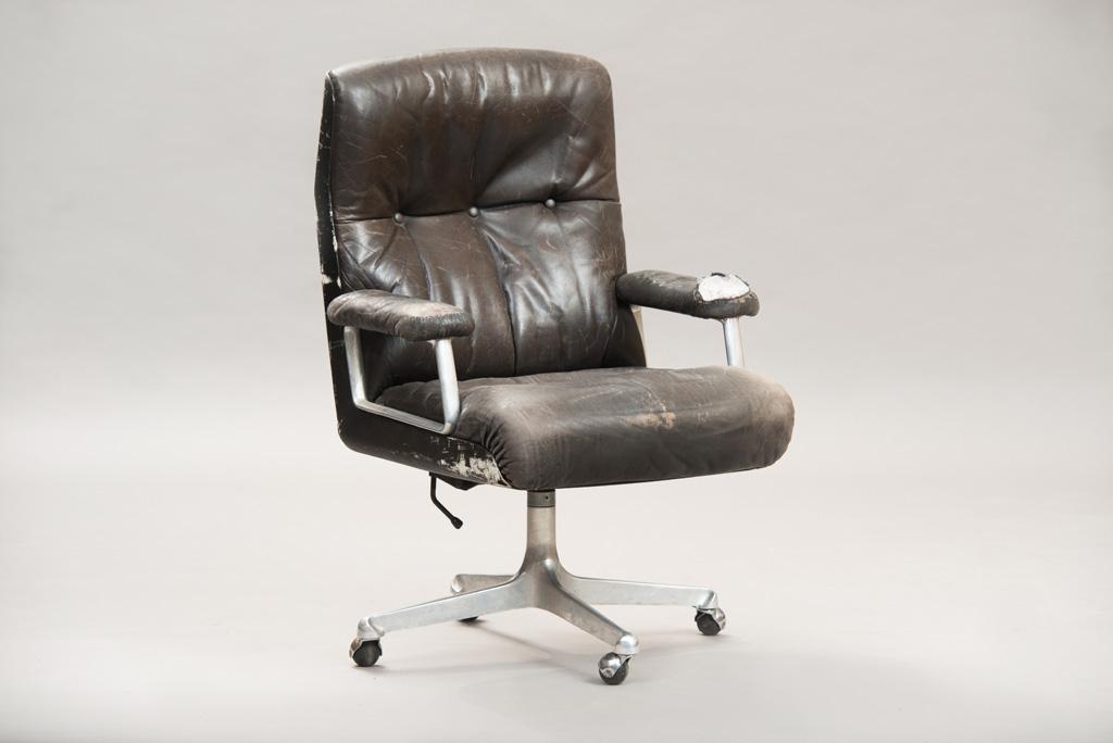 Cadeira de Escritório P125 de Osvaldo Borsani para a Tecno